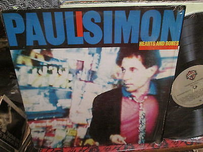 Paul Simon Lp Hearts And Bones in Shrink Ex Disc Venezuelan Press