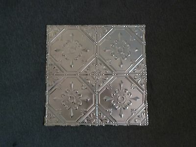 12-14:  10 2 x 2 Tin Plated Steel Sheets Victorian Design Tin Ceilings 12""