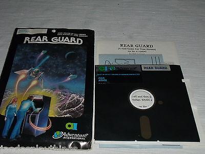 Unused Rear Guard Adventure International Atari 32K Apple 2 Plus Dos 3 3 48K