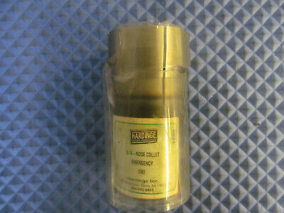 Nos Hardinge Emergency Collet Extended Nose 3j En2