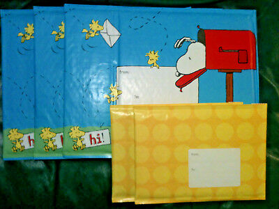 Hallmark Packaging Bubble Mailers Feature Snoopy More 5 Pack Free Ship