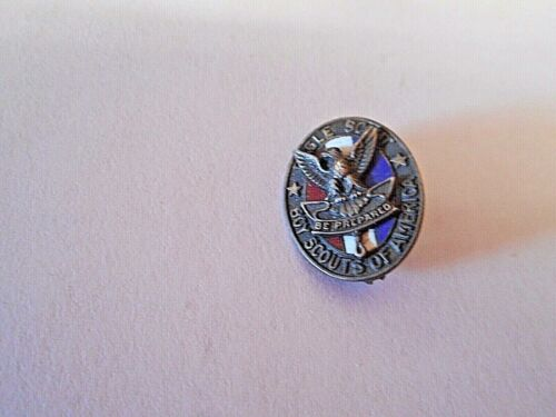 Vintage Boy Scouts of America Eagle Scout Pin--Sterling Silver