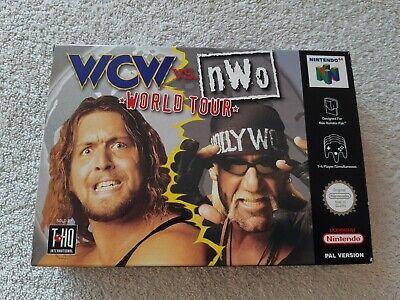 WCW NWO REVENGE ~ Nintendo 64 N64 PAL Boxed & Complete Collectors