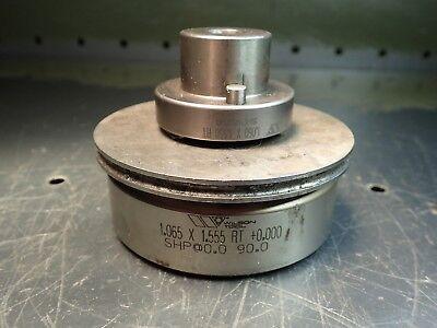 Wilson 1.060 X 1.550 .005 Turret Press Punch Die Stripper Set 3-12 Base