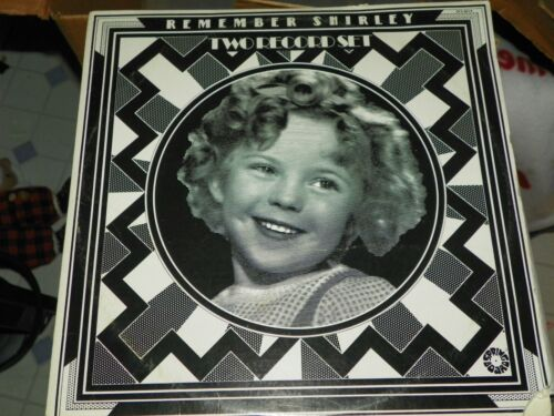 "SHIRLEY TEMPLE "" REMEMBER SHIRLEY "" 1973 2LP VINYL SET-UNPLAYED"