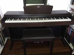 Yamaha Arius YDP-140 electric digital piano and stool Edmonton Cairns City Preview