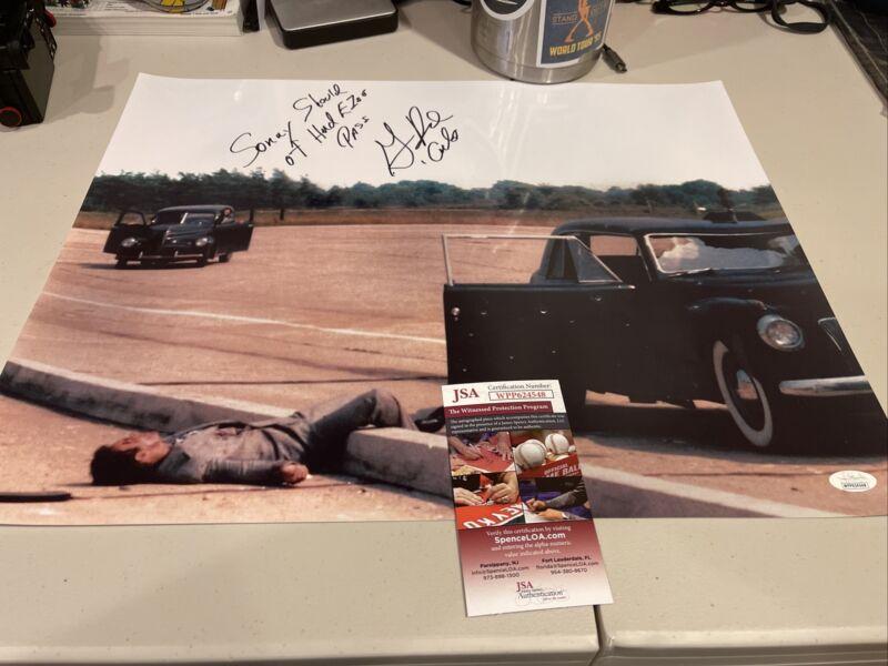 Autographed Gianni Russo Signed 16x20 Photo Carlo Godfather Inscriptions Jsa Coa