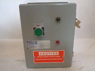 (NEW TRIAD CONTROLS MODEL TR-01)