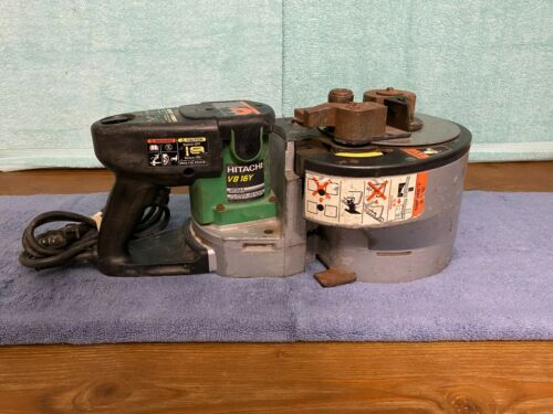 "USED Hitachi VB-16Y 5/8"" Portable Rebar Bender & Cutter"