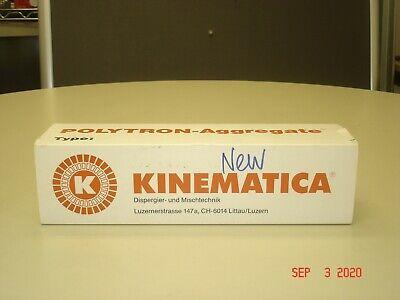 New Kinematica Pt-da 30122 Mec Homogenizer Generator Polytron Aggregate
