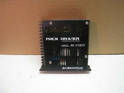 Pack Driver Stepping Motor Driver Ak-x120v