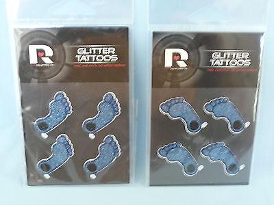 North Carolina Tar Heels GLITTER TATTOOS New in Package RICO -Qty of 24 packages - North Carolina Tattoos