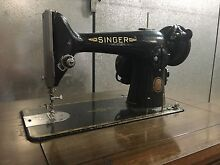 Vintage Singer 201k Electric Sewing Machine and Table Pymble Ku-ring-gai Area Preview