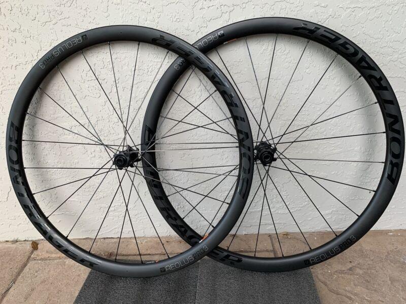 Bontrager Aeolus Pro 3 Disc Carbon Wheelset 12mm Thru-axle Bicycle Bike Wheels