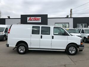 2017 Gmc Savana 2500 chrome. divider fin or lease from 5.99%oac