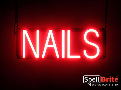 Spellbrite Ultra-bright Nails Sign Neon-led Sign Neon Look Led Performance