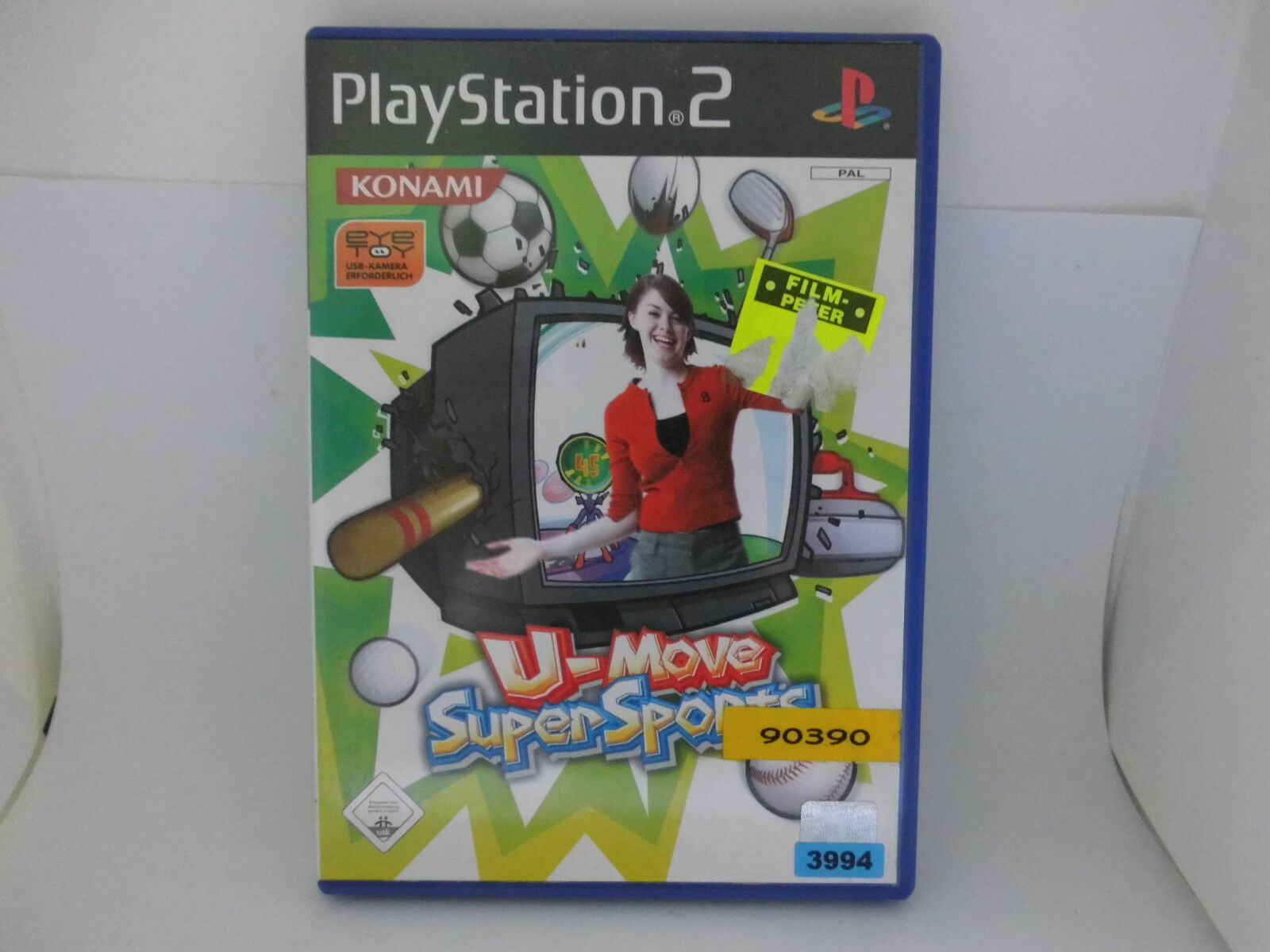PS2 PlayStation2 Spiel: U-Move Super Sports Supersports Sport FÜR Eye-Toy!