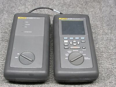 Fluke Dsp-2000 Cable Analyzer Dsp-2000sr Smart Remote Tested