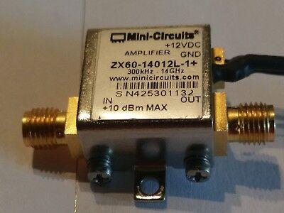 Mini Circuits Amplifier Zx60-14012l-1 300 Khz-14 Ghz 12 Vdc Zx60-14012l