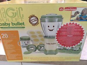 Brand new baby bullet