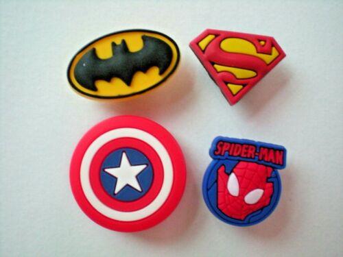 Shoe Charm Plug Kid Boy Accessories WristBand Bracelet Super Heros