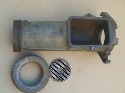 Hobart 4146 Commercial Meat Grinder Cylinder Parts Ring Blade
