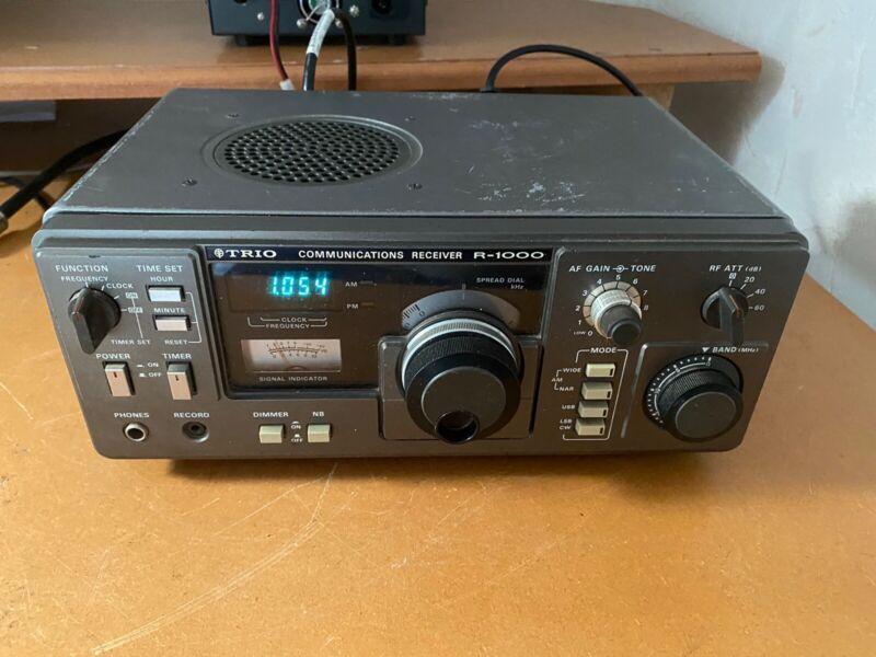 Kenwood R-1000 Special Shortwave Receiver AM SSB CW Radio  Collector Item