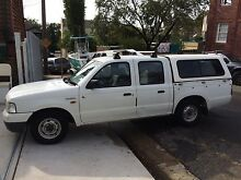 Ford Courier 2004 dual Cab Woollahra Eastern Suburbs Preview