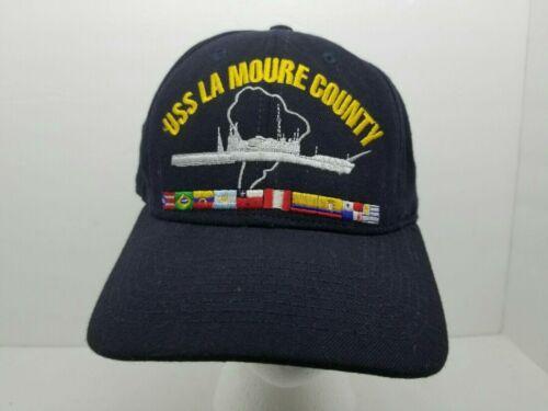 USS LA Moure County LST-1194 Snap-back Hat