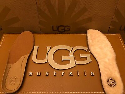 New Mens UGG Australia Natural Leather / Sheepskin Insoles Replacement boots