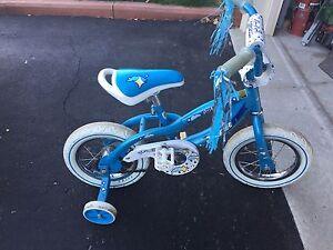 "12"" Blue Sportek bike"