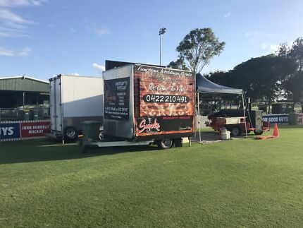 American BBQ  food van and catering Business for sale, Smoker, Pit BBQ