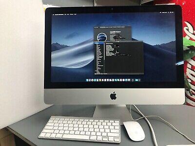 iMac 21.5 A1418 Slim Quad Core i5 2.7GHz 8GB RAM 500GB SSD Wireless warranty