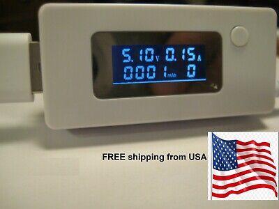 Usb Port Doctor Voltage Current Measurement Charger Detector Tester Usa Shipping