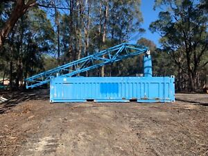 20 foot half container with crane Cuprona Central Coast Preview