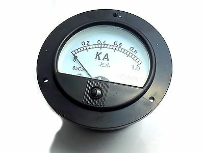 Us Stock Dc 01000a Analog Amp Current Pointer Needle Panel Meter Ammeter Shunt