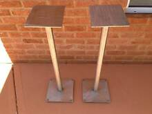 Stainless Steel speaker stands. Kalgoorlie 6430 Kalgoorlie Area Preview