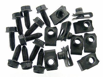 GM Body Bolts & U-Nuts- M8-1.25mm Thread- 13mm Hex- Qty.10 ea.- #389