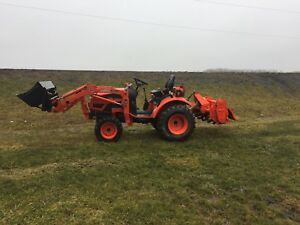 Tractor service and snow removal service for hire