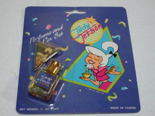 Judy Jetson Perfume and Pin Set Rare Vintage The Jetsons 1989 New Hanna-Barbera