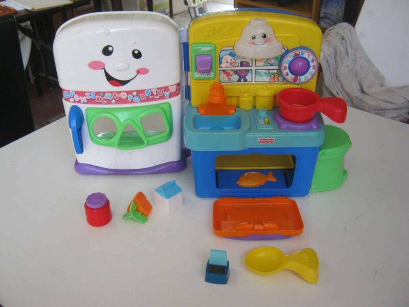 Fisher Price Laugh And Learn Musical Play Kitchen Innaloo Stirling Area Image 2 1 Of 4