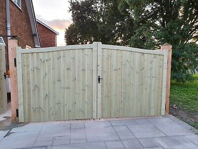 Woden Driveway Gate H5ft 6inch/5ft W12ft For rosie6604