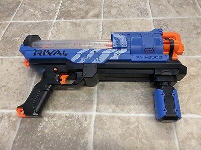 Hasbro B8235 Nerf Rival Artemis XVII-3000 - BLUE Holds 30 balls Toy Blaster
