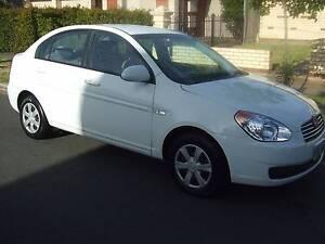 2007 Hyundai Accent Sedan Angle Park Port Adelaide Area Preview