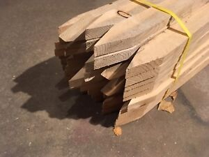 Wood Stakes. New in bundles. Approx 200