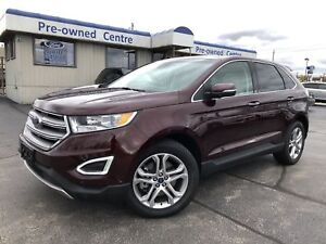 2018 Ford Edge Titanium/AWD/DVD/ROOF/NAV/LEATHER