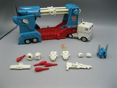 1986 Transformers More Than Meets the Eye G1 Ultra Magnus 100%