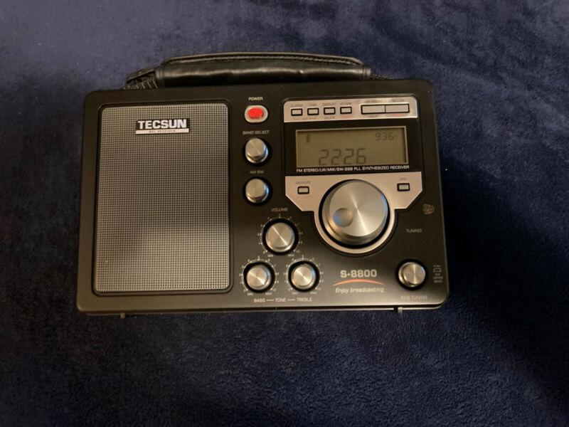 Tecsun S-8800 worldband radio AM/FM/LW,MW,SW receiver