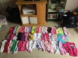 138 pieces of 6-12 month girl clothes