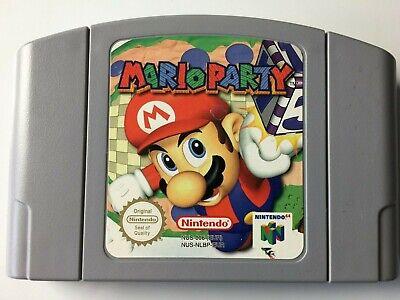 Mario Party N64 Nintendo 64 (Inglés,Francais,Deutsch) G1